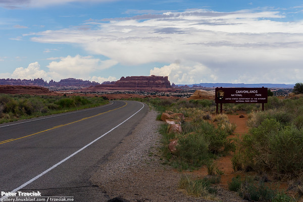 Canyonlands N.P. and Arches N.P.