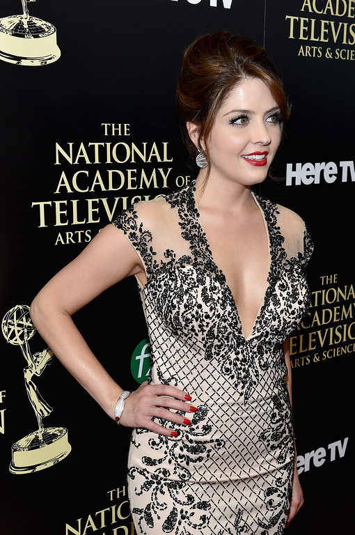 . Actress Jen Lilley attends The 41st Annual Daytime Emmy Awards at The Beverly Hilton Hotel on June 22, 2014 in Beverly Hills, California.  (Photo by Alberto E. Rodriguez/Getty Images for NATAS)