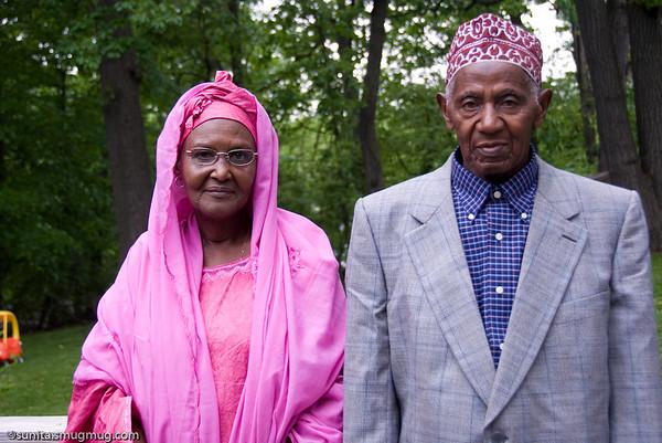 Family from Rwanda