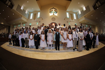 April 15 First Communion/Confirmation Mass