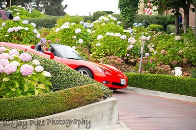 October 9, 2011 - Ty Allen and Red Corvette