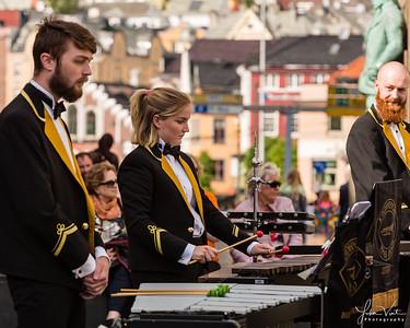 Krohnengen Brass Band, 16 June 2018