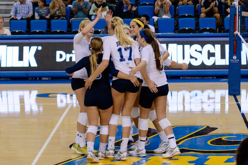 UCLA Women's Volleyball vs. Cal @ Pauley Pavilion