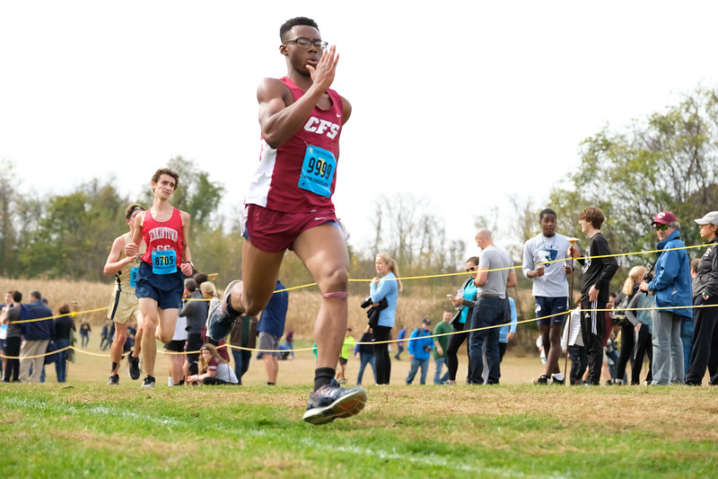 Church Farm School XC Districts 2019