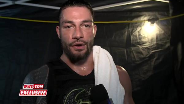 Roman Reigns - Screencaps / SD Live backstage