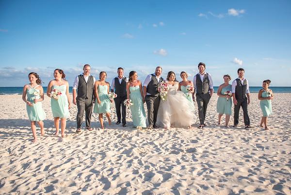 Candice + Brent - Wedding - Sandos Playacar