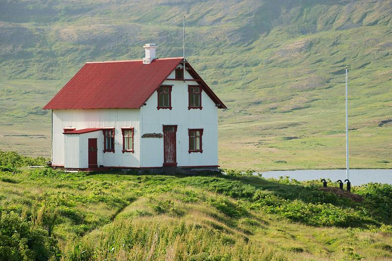 Aðalvík - Staður. Prestbústaðurinn. 2012.