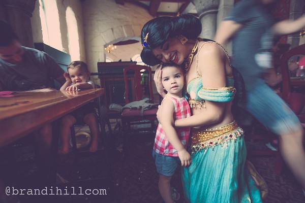 Elle and Myles Birthday at Disney World