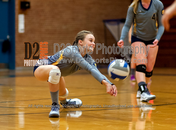 Mount Tabor Spartans vs Davie War Eagles Varsity Volleyball 10/8/2015