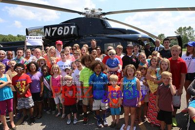 Donald Trump Helicopter Landing 8-15-15