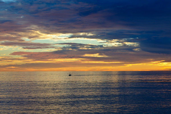 Santa Cruz Sunset Surfers Lighthouse Waltons Lighthouse
