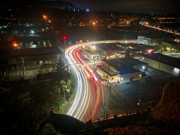 An Oregon City Evening - 2021/01/14
