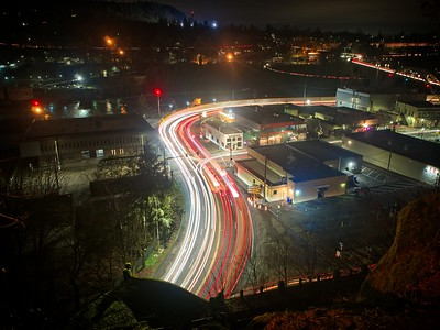 An Oregon City Evening - 2021/01/14