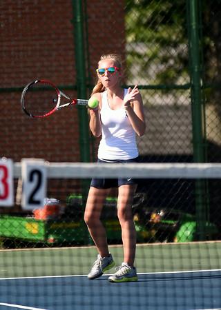 Blue Mountain vs Kutztown Girls High School Tennis 2014 - 2015