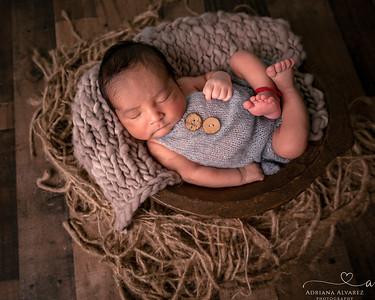 Sebastian's Newborn Session