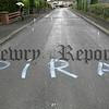 Graffiti at Shandon park Newry. 06W33N8