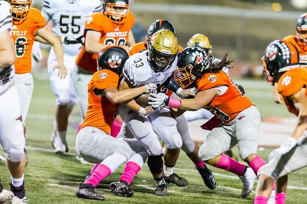 Roseville High School Varsity Football vs Yuba City 10-12-18