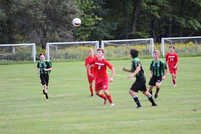 RHS JV vs. Colchester boys soccer 8/31/18