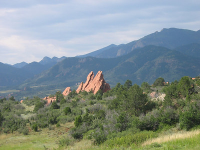 Garden of the Gods - August 2007