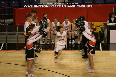 2007 State 2B Girls - Napavine over Bearcreek