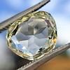3.46ct Portrait Rose Cut Trapezoid Diamond GIA UV VVS2 12