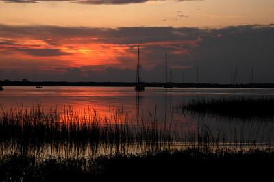 Sunrise in St.Augustine.September 18,2009
