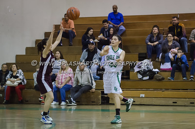 2015 Basketball Eagle Rock Girls vs Bravo 19Feb2015