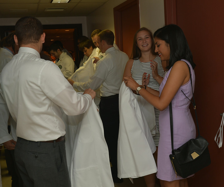 08.08.14 MU Medical School White Coat Ceremony