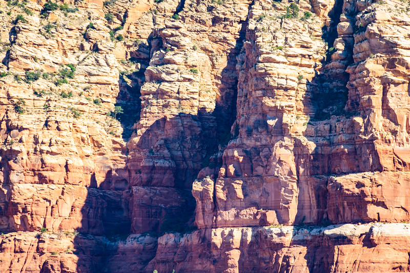 Cliff face background from Sedona