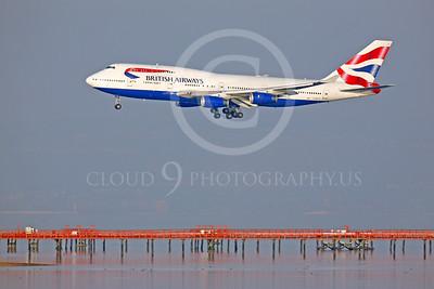 British Airways Boeing 747 Airliner Pictures