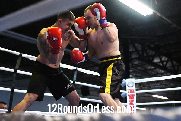 Bout #2:  Rob  Mayernick, Blue Wrist Raps  vs  Billy Irwin, Red Wrist Raps
