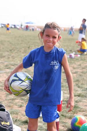 2005 Sept Lindsey Soccer and Baptism
