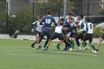 Rugby - Peninsula Green HS vs Bellarmine - March 24, 2012