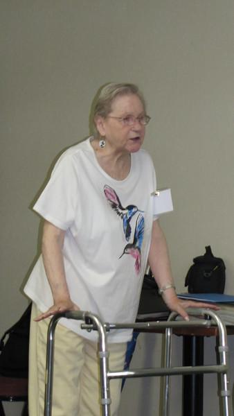 Panelist Pat Flatten shared her expertise.