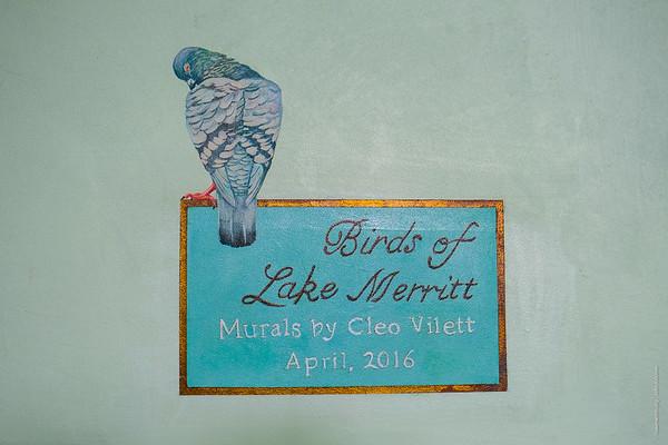 Bellevue Club Bird Mural