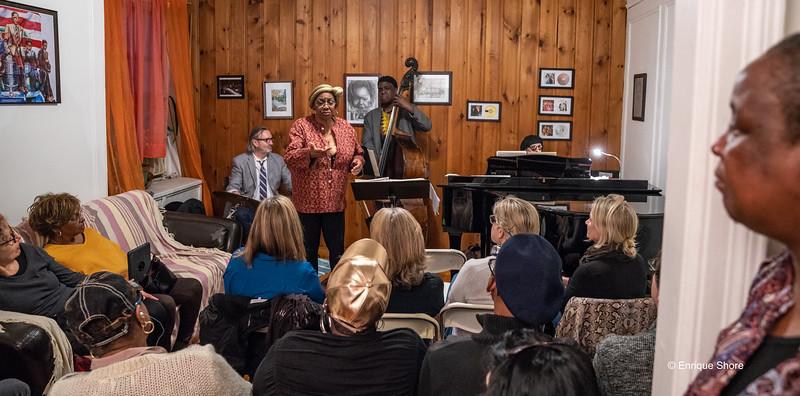 Jazz at Beverly's Parlor - Harlem, NYC