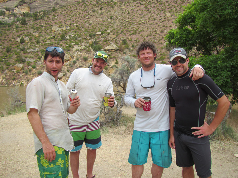 ERic, Jake, Dave and Hans Happy Hour!