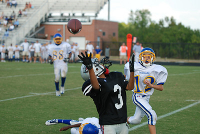 100607 Jr. Raiders 6th vs Chattahoochee