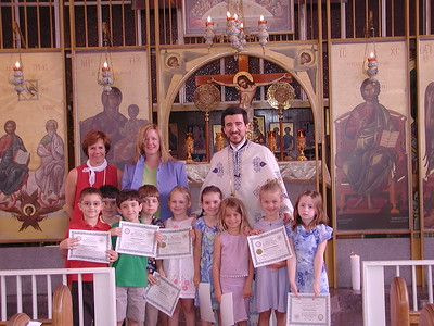 Church School Graduation - May 23, 2004