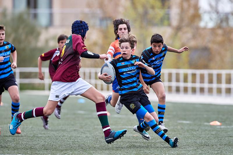 I.Industriales Negro vs Kreab Alcobendas Rugby Azul