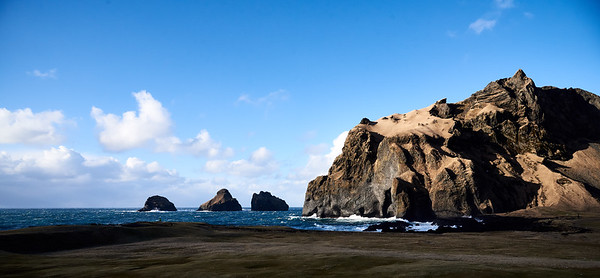 Westman Islands in Winter