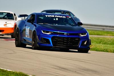 2019 SCCA TNiA June 22 Pitt Race Ad Blue Camaro