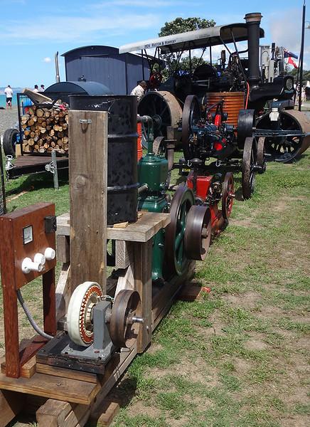 Steam engine display