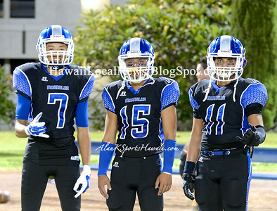 08-29-14 Moanalua Na Menehune Varsity Football vs Farrington Gov's (27-47).