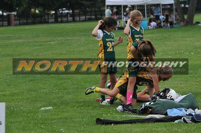 6th Grade Girls 6/18/2011, Red Hots vs 3Villages Green