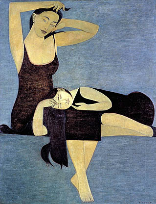 "Will Barnet, ""Sleeping Child"" (1961)"