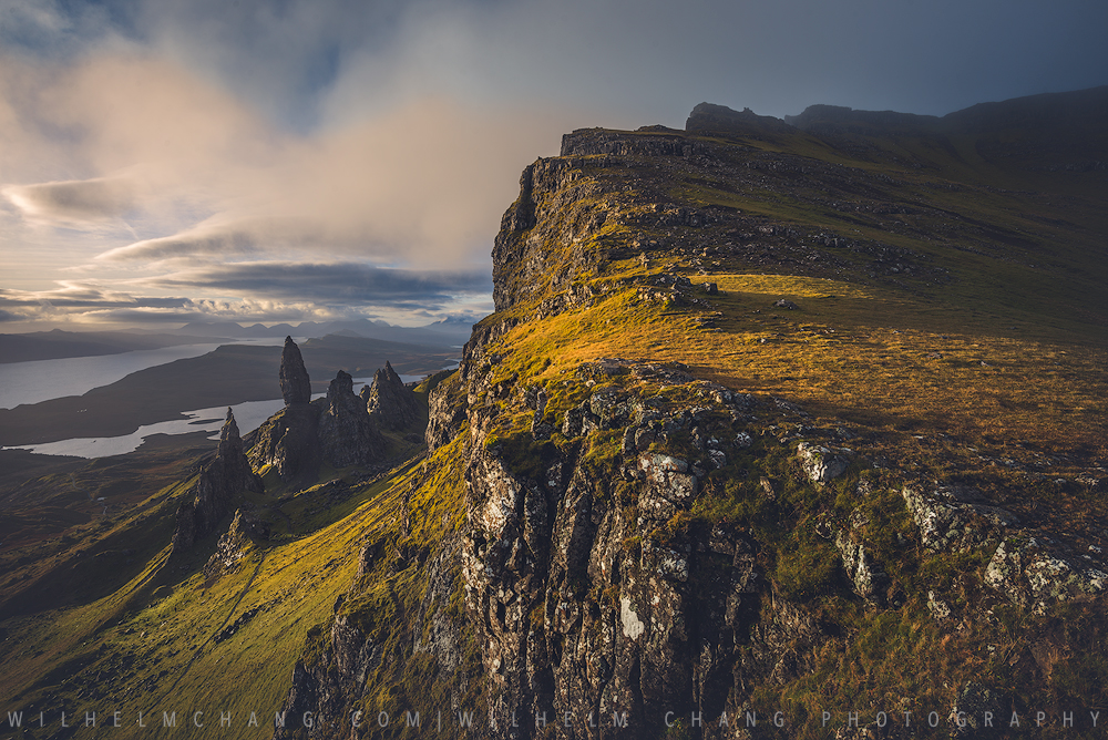 到英國攝影 蘇格蘭高地天空島 攀登斯托爾的老人 The Old Man of Storr, Isle of Skye by 旅行攝影師 張威廉 Wilhelm Chang Photography