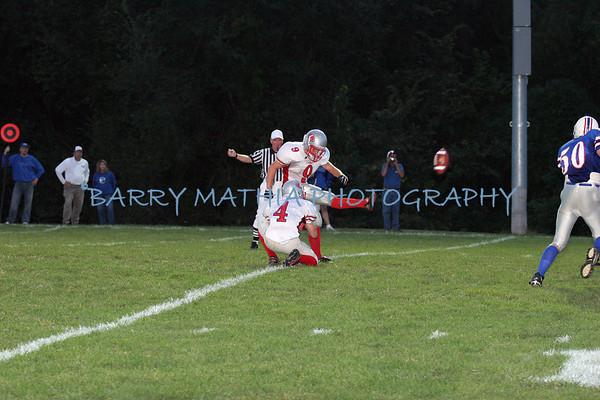 Lawson Football vs West Platte 07 Varsity 2nd camera