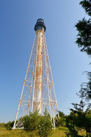 Cape Charles Lighthouse. Smith Island, Eastern Shore, VA. © 2020 Kenneth R. Sheide