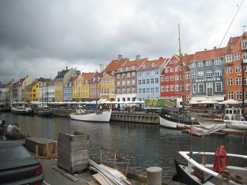 Lovely canal scene - Copenhagen